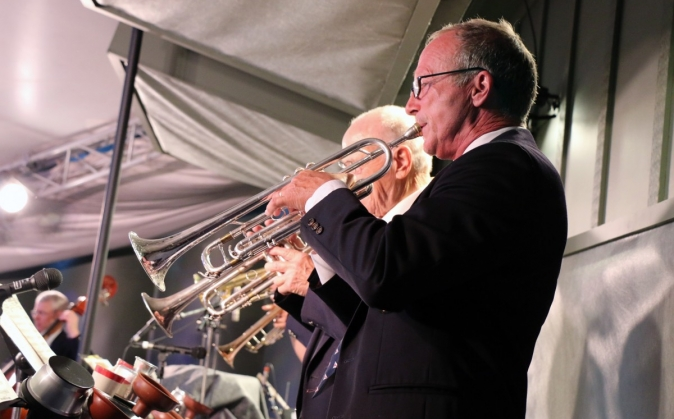 Kevin Greenwood and the Trumpet Section