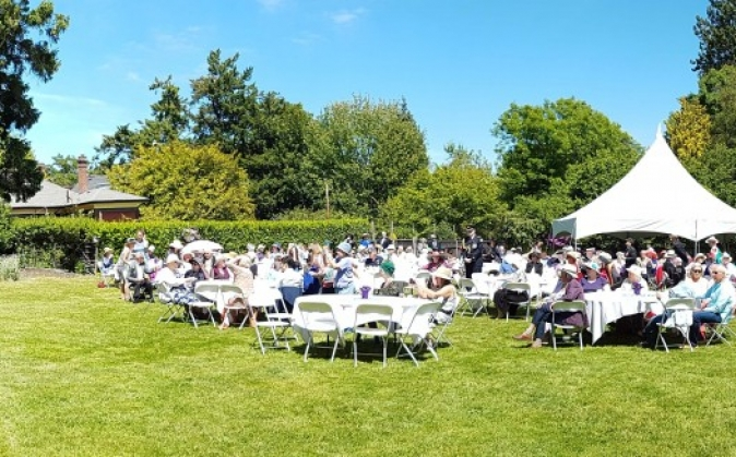 2018 Government House Garden Party celebration the 65th anniversary of the Coronation of Her Majesty Queen Elizabeth ll