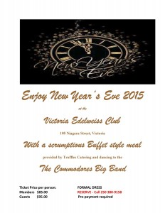 New Years Poster 2015